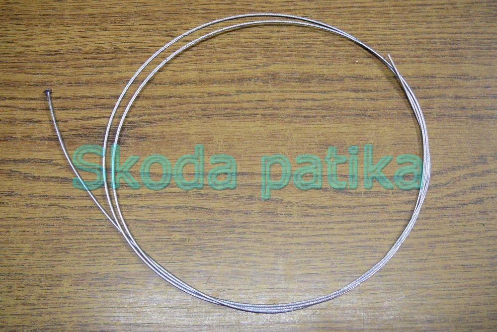 Skoda 105-120 motorházfedél nyitó bowden /hátsó/