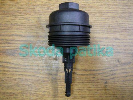 Skoda Fabia 1 és 2, Roomster olajszűrő tartó és kupak