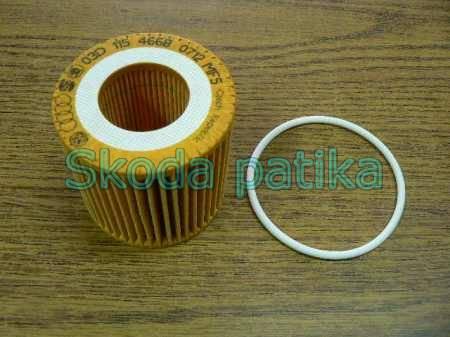 Skoda Fabia 1,2 olajszűrő gyári