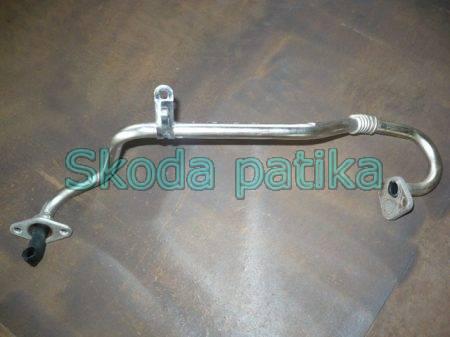 Skoda Fabia EGR szelep összekötő fémcső