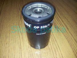 Skoda Fabia Octavia Superb olajszűrő 1,6-2,0 benzin Filtron OP526/1