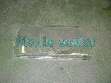 Skoda Favorit JE lámpaüveg utángyártott