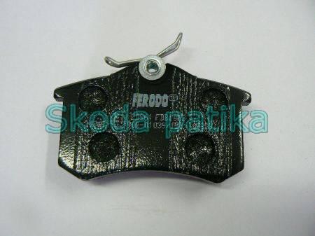 Skoda Fabia Octavia Superb Roomster hátsó fékbetét FDB 1083