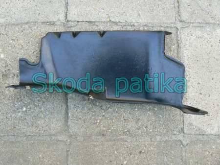 Skoda Octavia motorvédő burkolat jobb utángyártott