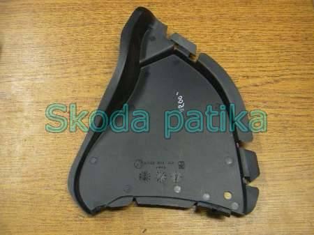 Skoda Octavia motorvédő lemez jobb dobbetét előtt