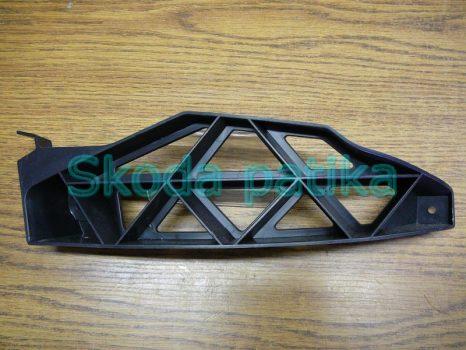 Skoda Octavia 2 Facelift bal hátsó lökhárító tartóprofil
