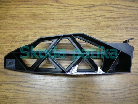 Skoda Octavia 2 Facelift jobb hátsó lökhárító tartóprofil