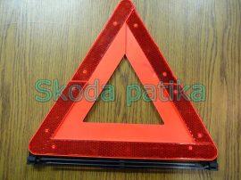 Skoda Superb elakadásjelző háromszög