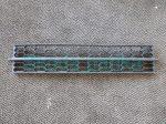Skoda Octavia III. első lökhárító középső műanyag rács