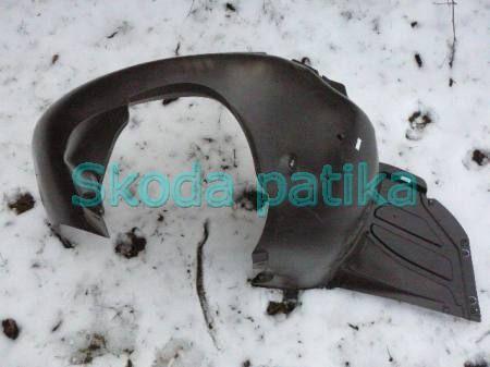 Skoda Fabia II. Roomster 2010.07.-hó ig bal első kerékjárati dobbetét