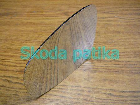 Skoda Fabia II. Roomster bal, FŰTHETŐ visszapillantó tükörlap