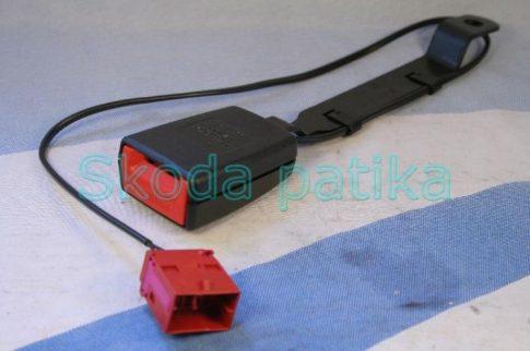 Skoda Fabia II. és Roomster bal első elektromos biztonsági öv csatlakozó