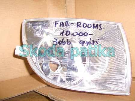 Skoda Fabia 2 Roomster jobb ködlámpa 2007 től