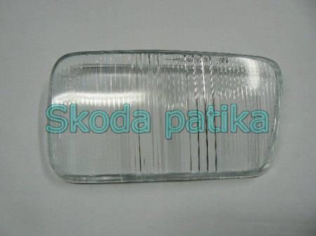Skoda Felicia ködlámpa üveg BE 1997-ig