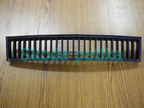 Skoda Fabia első lökhárító középső  műanyag rács 2004-ig;