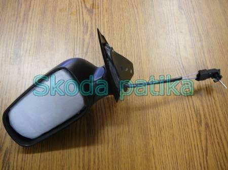 Skoda Fabia 1 bal mechanikus fekete tükör
