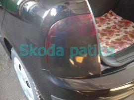 Skoda Fabia sötétített hátsó lámpa 2004 után