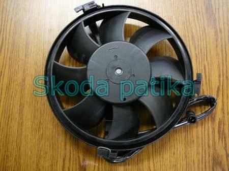 Skoda Superb klímahűtő ventillátor