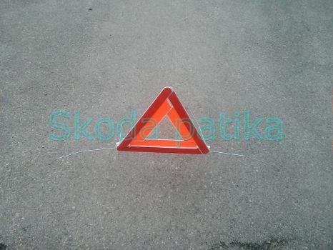 Skoda Fabia Octavia gyári elakadásjelző háromszög