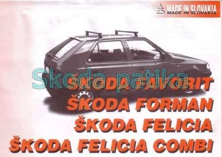 Skoda Favorit Felícia tetőcsomagtartó