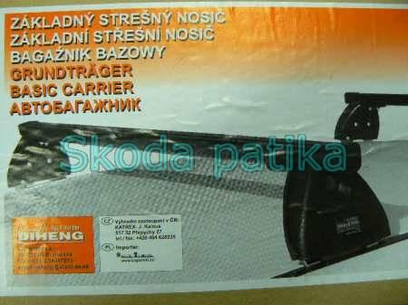 Skoda Fabia Octavia zárható tetőcsomagtartó