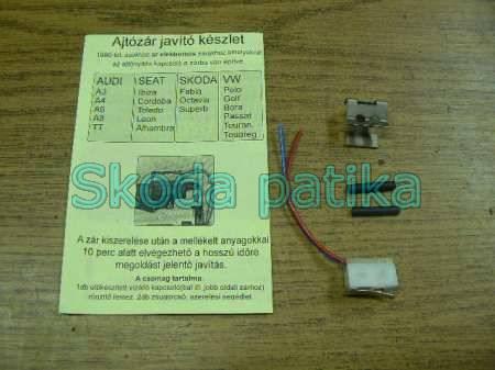 Skoda mikrokapcsoló ajtózár javító készlet FAB-OCT-ROOM-SUP