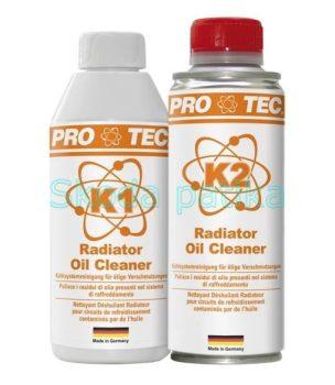 Pro-Tec olajos hűtő tisztító 2 komponensű